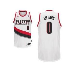 Portland Trail Blazers #0 Damian Lillard Revolution 30 Swingman Startseite Kaufen Basketball Trikots