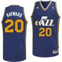 Utah Jazz &20 Gordon Hayward Revolution 30 Swingman Road Blue Jersey
