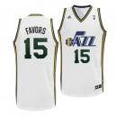Utah Jazz &15 Derrick Favors Revolution 30 Swingman Home Jersey
