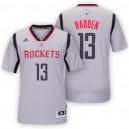 Rockets New Uniform-Houston 2015-16 Season &13 James Harden New Swingman Alternate Gray Jersey