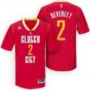 Rockets New Uniform-Houston 2015-16 Season &2 Patrick Beverley New Swingman Clutch City Pride Red Jersey