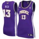 Steve Nash Phoenix Suns Women's Purple Jersey