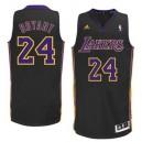 Los Angeles Lakers &24 Kobe Bryant Hollywood Nights Black Swingman Jersey