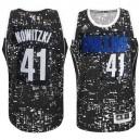 Dirk Nowitzki Dallas Mavericks &41 City Lights Black Swingman Jersey