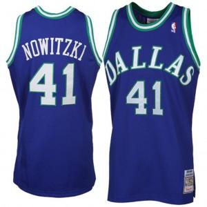 Mitchell # Ness Dirk Nowitzki Dallas Mavericks Authentic Throwback Kaufen Basketball Trikots