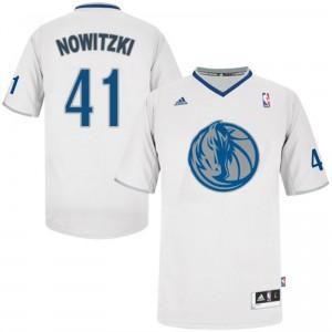 Dallas Mavericks #41 Dirk Nowitzki 2013 Weihnachten Tag Kaufen Basketball Trikots