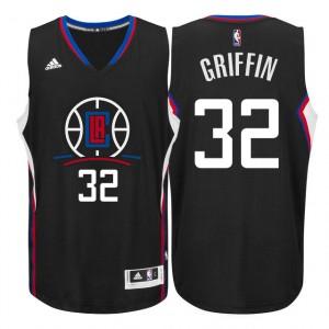 Los Angeles Clippers 2015-16 neue Saison Logo #32 Blake Griffin Schwarz Swingman Kaufen Basketball Trikots