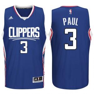 Los Angeles Clippers 2015 neue Saison Logo #3 Chris Paul Blau Swingman Kaufen Basketball Trikots
