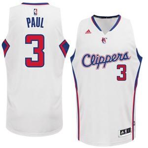 Los Angeles Clippers #3 Chris Paul 2014-2015 neue Swingman Startseite Weiß Kaufen Basketball Trikots