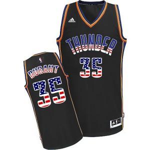 Oklahoma City Thunder #35 Kevin Durant 2015 American flag Special Editon Kaufen Basketball Trikots