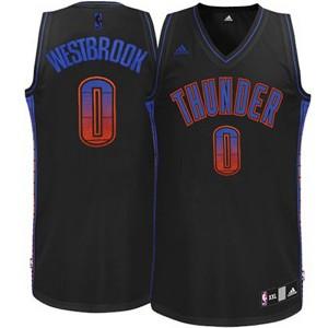Oklahoma City Thunder #0 Russell Westbrook 2015 Vibe neue Swingman Fashion Kaufen Basketball Trikots