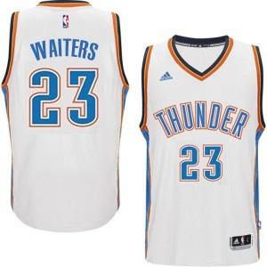 Oklahoma City Thunder #23 Dion Waiters 2014-15 neue Swingman Startseite Weiß Kaufen Basketball Trikots