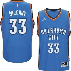 Oklahoma City Thunder #33 Mitch McGary 2014-15 neue Swingman Road Blau Kaufen Basketball Trikots