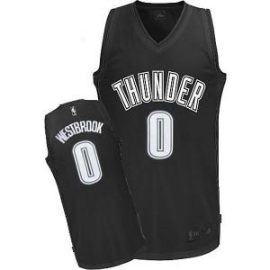 Oklahoma City Thunder #0 Russell Westbrook 2015 Fashion neue Swingman Dark Kaufen Basketball Trikots