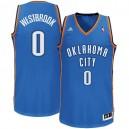 Jugend Oklahoma City Thunder #0 Russell Westbrook Revolution 30 Swingman Road königlichen Blau Kaufen Basketball Trikots