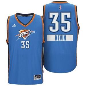Thunder #35 Kevin Durant 2014 Weihnachten Tag Big Logo Swingman Kaufen Basketball Trikots