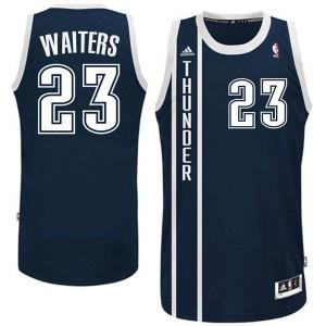 Oklahoma City Thunder #23 Dion Waiters Revolution 30 Swingman Alternate Marine Blau Kaufen Basketball Trikots