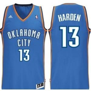 Oklahoma City Thunder #13 James Harden Revolution 30 Swingman Road Kaufen Basketball Trikots
