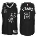 Kawhi Leonard San Antonio Spurs &2 2015-16 New Swingman Black Signature Spur Jersey